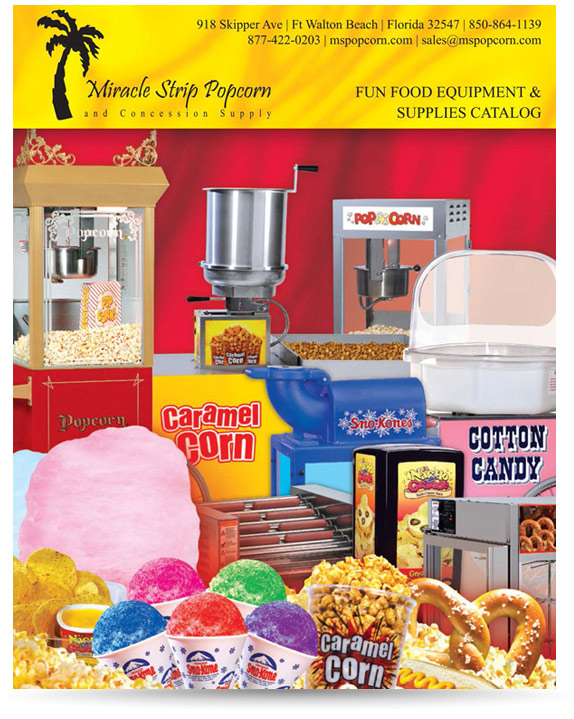Miracle Strip Popcorn & Concession Supply Catalog
