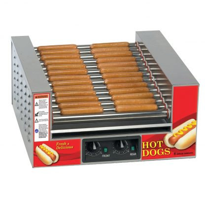 Slanted Hot Diggity® Hot Dog Grill-0
