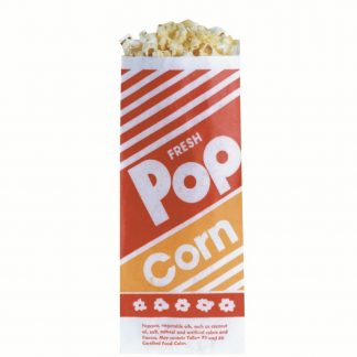 "Popcorn Bags 8""-0"